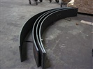 A36 TOP GRADE PLATE STEEL READY TO BE BUILT INTO CUSTOM CIRCULAR BEAM